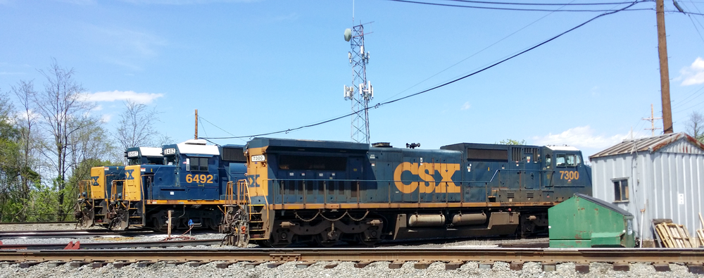 CSX 6492 (Ex-CSXT 6281, Ex-C&O 4383) is another locomotive that railfans have spotted all over the eastern states. It was built by GM in January 1980 for the Chesapeake and Ohio Railway. CSX Transportation's roster contained 565 different EMD GP40-2 locomotives over the years. This unit also looked wonderful painted as Chessie System too!
