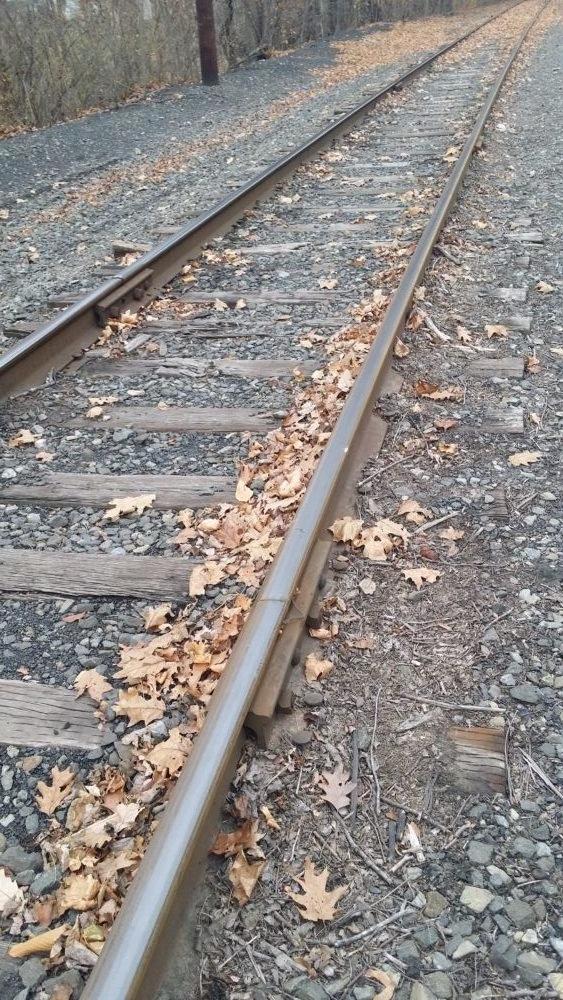 The train track in MInersville.