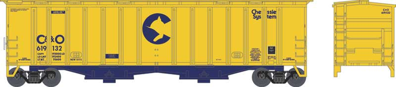 Just one of the new N-Scale Airslide Hoppers.