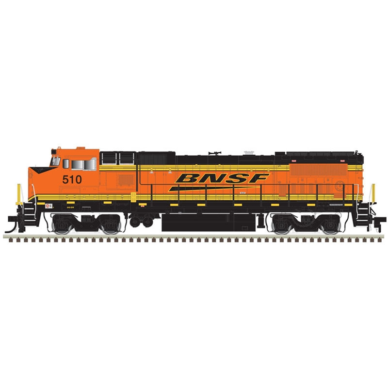 Atlas HO DASH 8-40BW GOLD BNSF #510