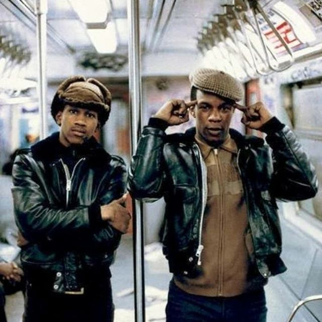 Ray 'N David going to see #blackpanther like... #allblackeverything #tribe #streetclasspodcast **** #rolldeep #culturalattire #ablackaffair #wakandastyle #wakandaforever #marvel