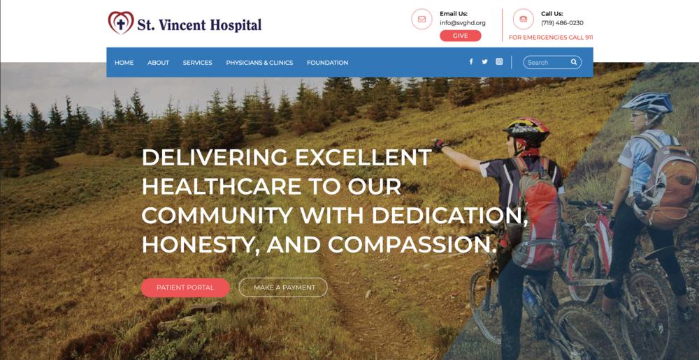 St. Vincent Hospital -