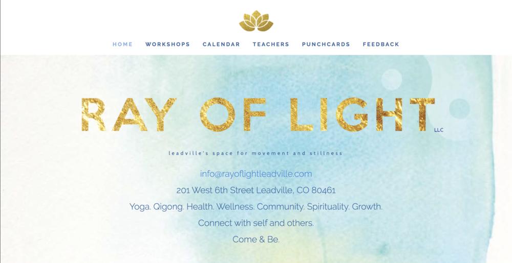 Ray of Light Yoga Studio -