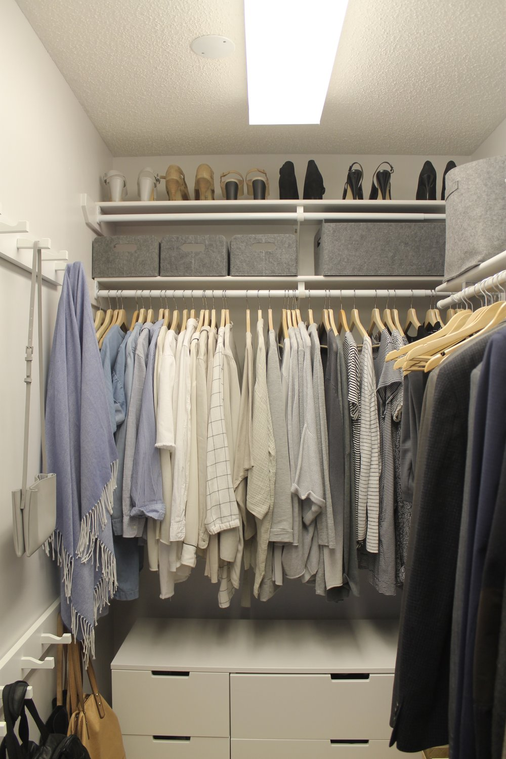 closet organization after (home 1)
