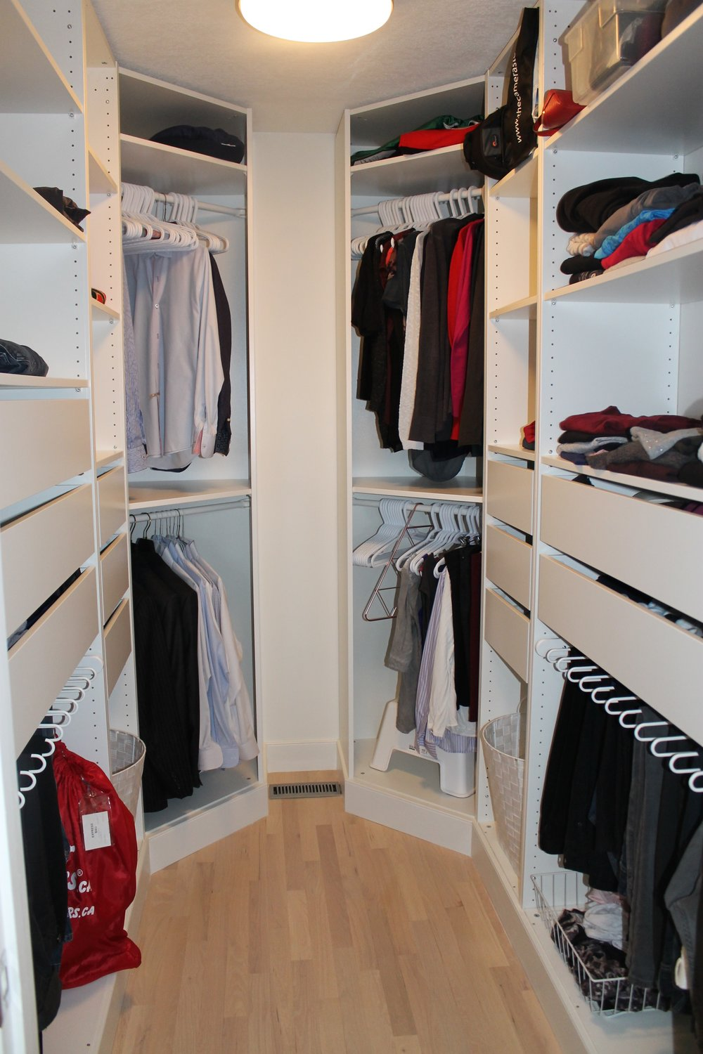 closet organization after (home 2)