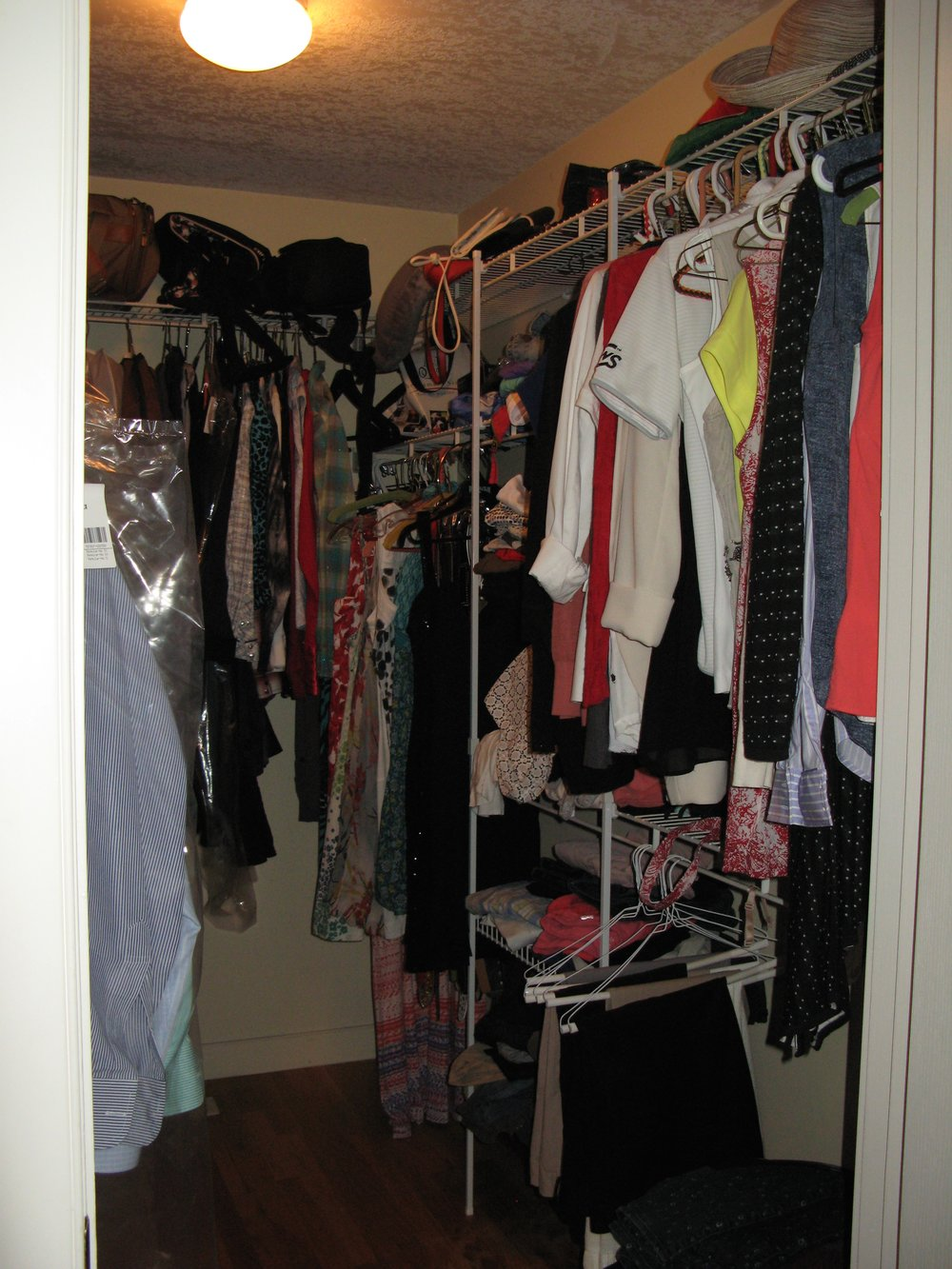 closet organization before (home 2)