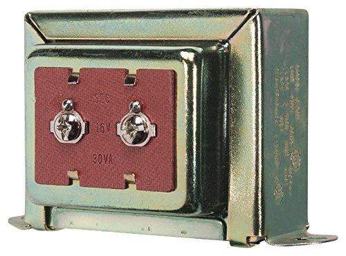 16V - This 16V-30VA transformer is compatible with the Ring Pro Doorbell. You can see it also has a 30VA amperage rating in the picture.