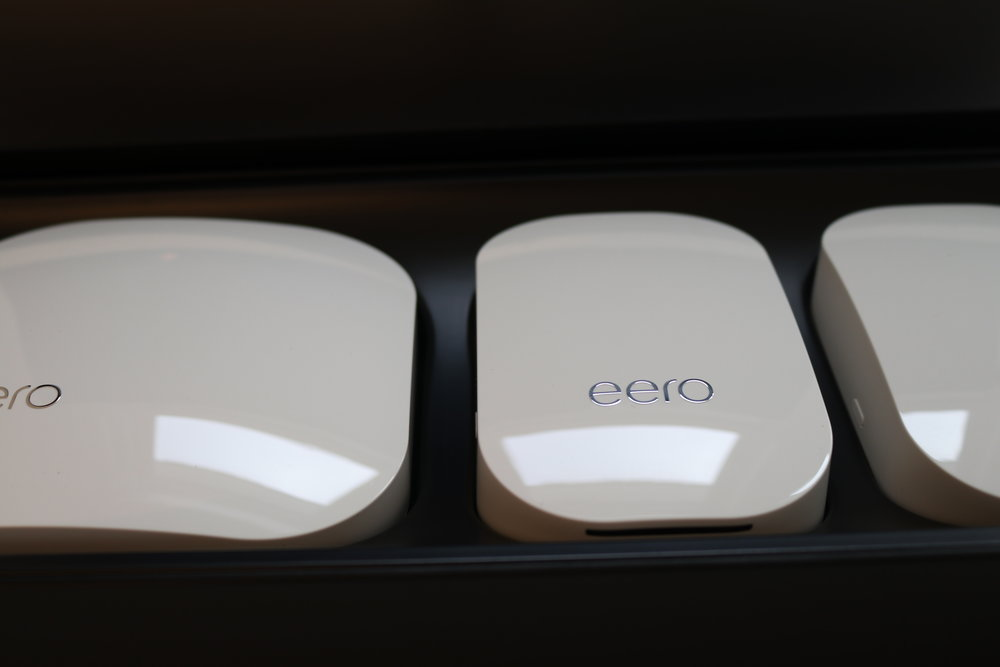 Eero WiFi system three pack, our recommendation for the best WiFi system of 2018