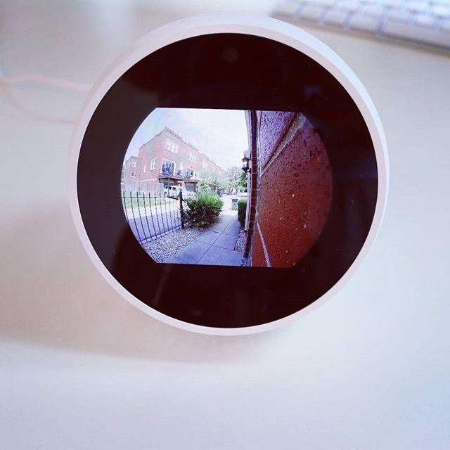 #echospot use amazon echo to view your smart doorbell