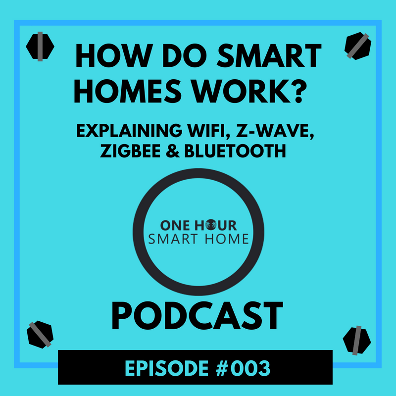 One Hour Smart Home Podcast Episode: #003  www.onehoursmarthome.com