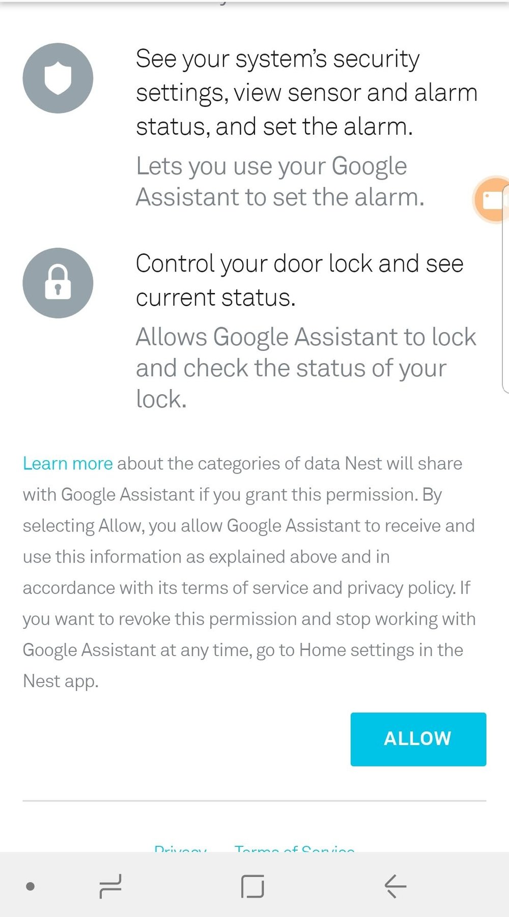 Nest Smart Lock Voice Control