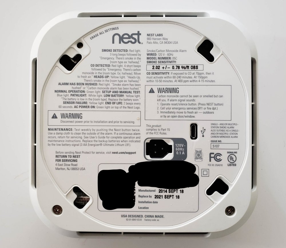 All Nest Smoke Detectors Expire afTER 10 YEARS, YOU WILL MOST LIKELY NEED TO REPLACE THE NEST SMOKE DETECTOR BATTERIES ONCE IN THE 7 YEAR TIME FRAME BEfore ExpiRATION.
