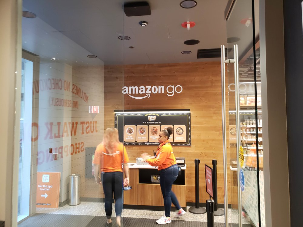 Amazon Go Chicago Store Located At 113 S. Franklin Street, Chicago IL 60606