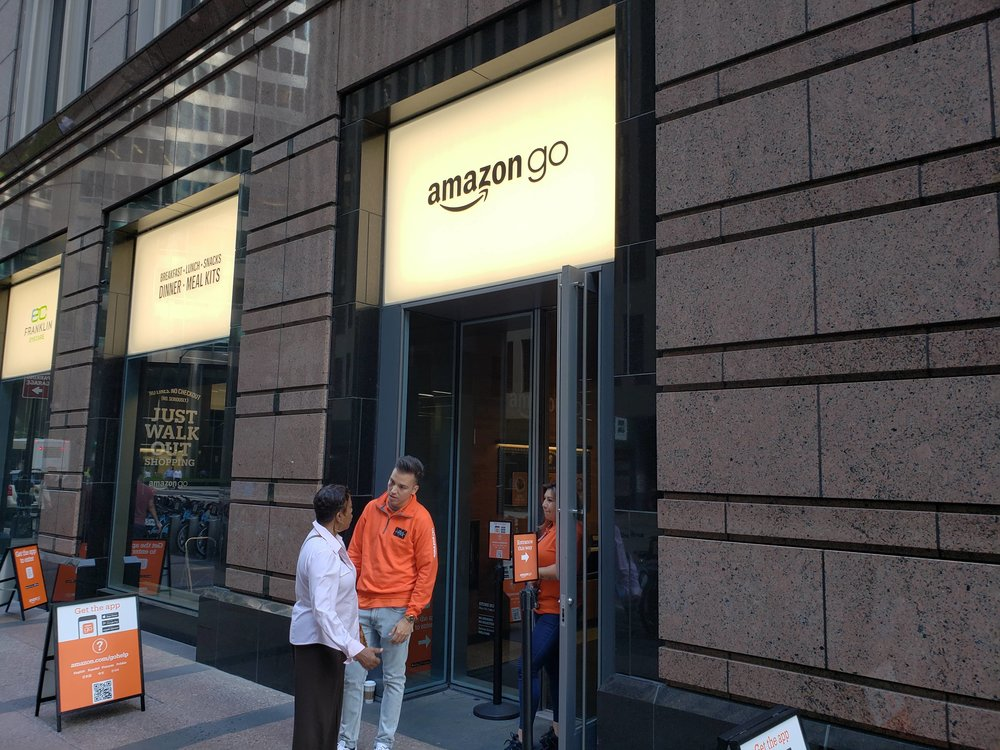 New Amazon Go Store After Remodel 113 S. Franklin Street, Chicago, IL