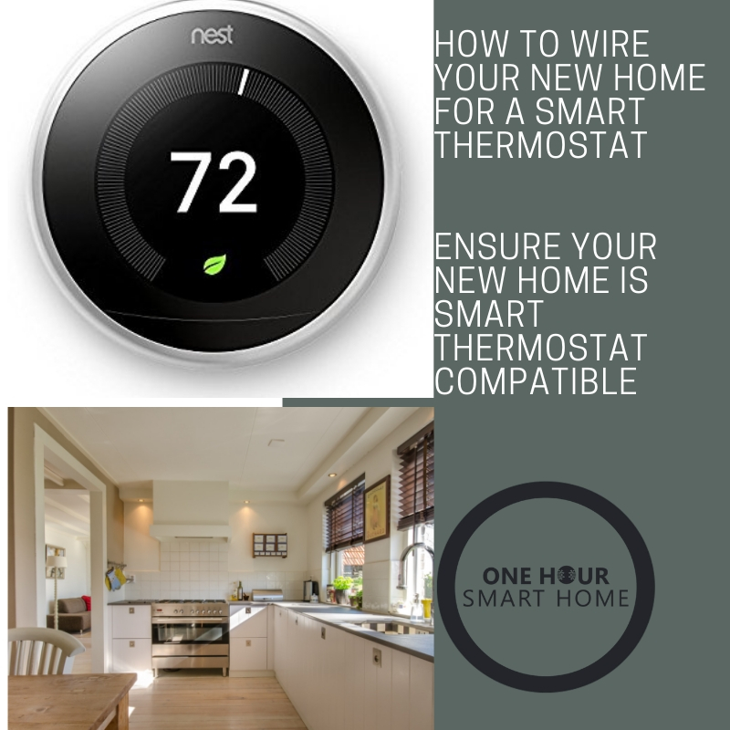 How to wire your new home for a smart thermostat