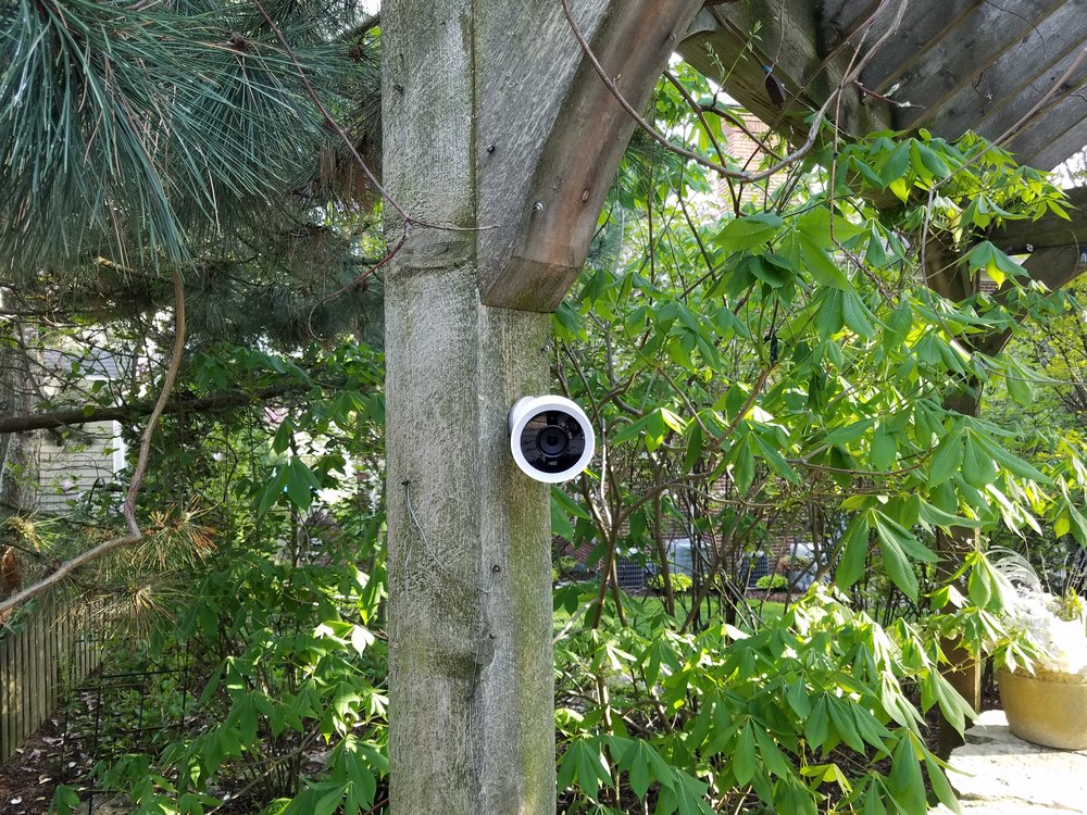 Nest Outdoor Camera  Works With Alexa