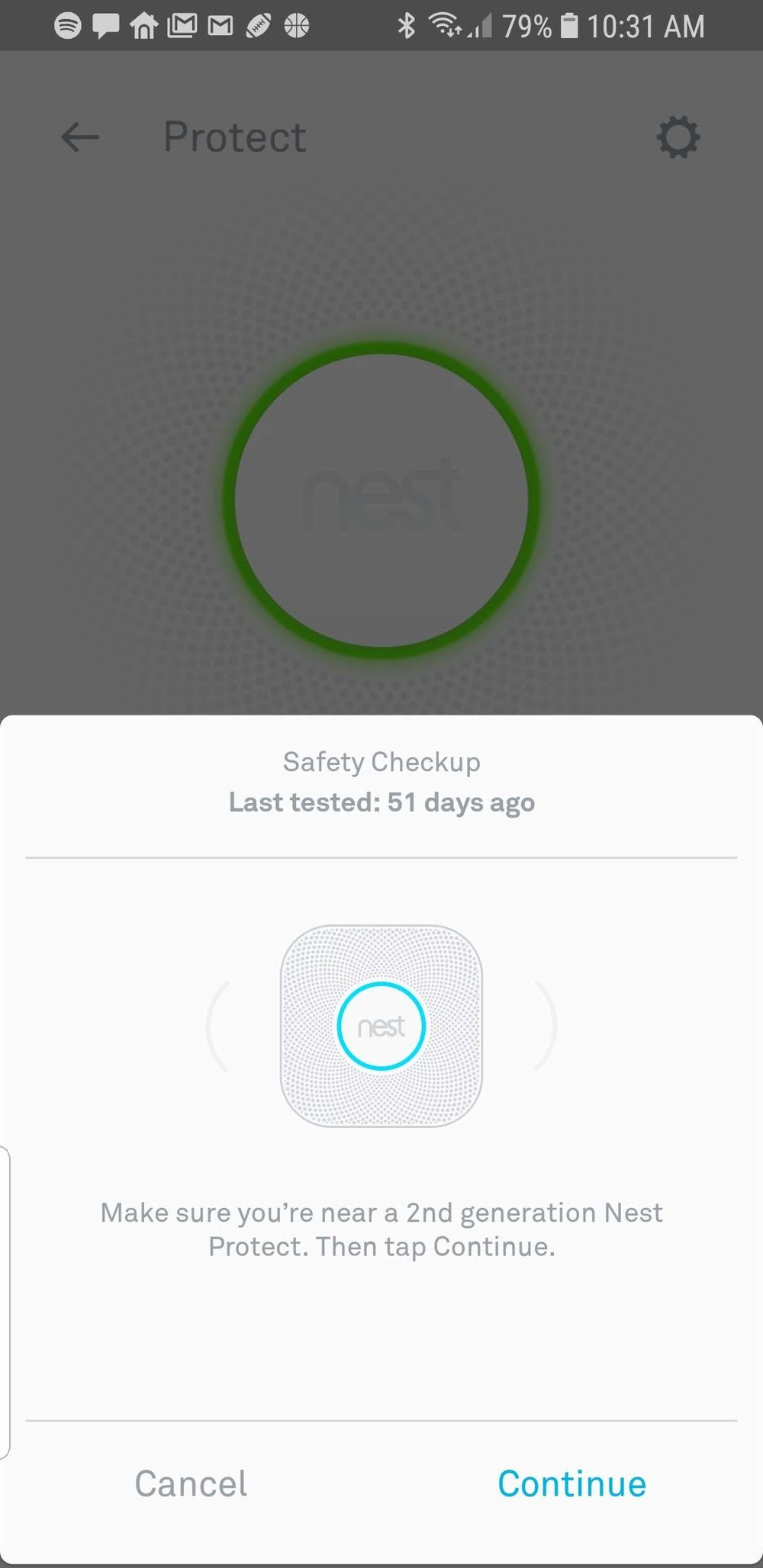Nest Protect Review : Automated Push Button Smoke Detector Testing