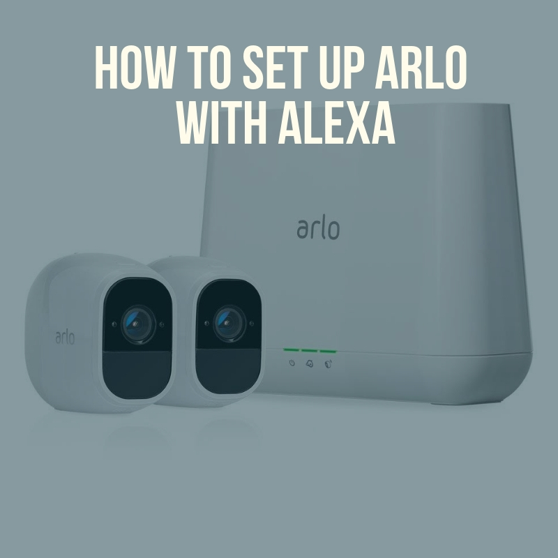 Does Arlo Work With Alexa? Yes, all Arlo cameras work with Alexa to display live video feeds of Arlo Cameras on the Echo Show or Echo Spot.