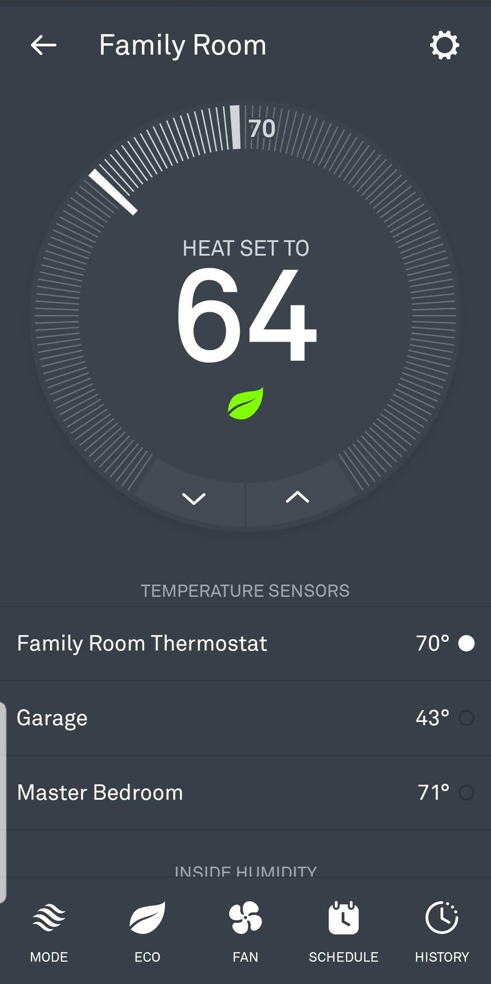 Nest Thermostat  Works With Google Home
