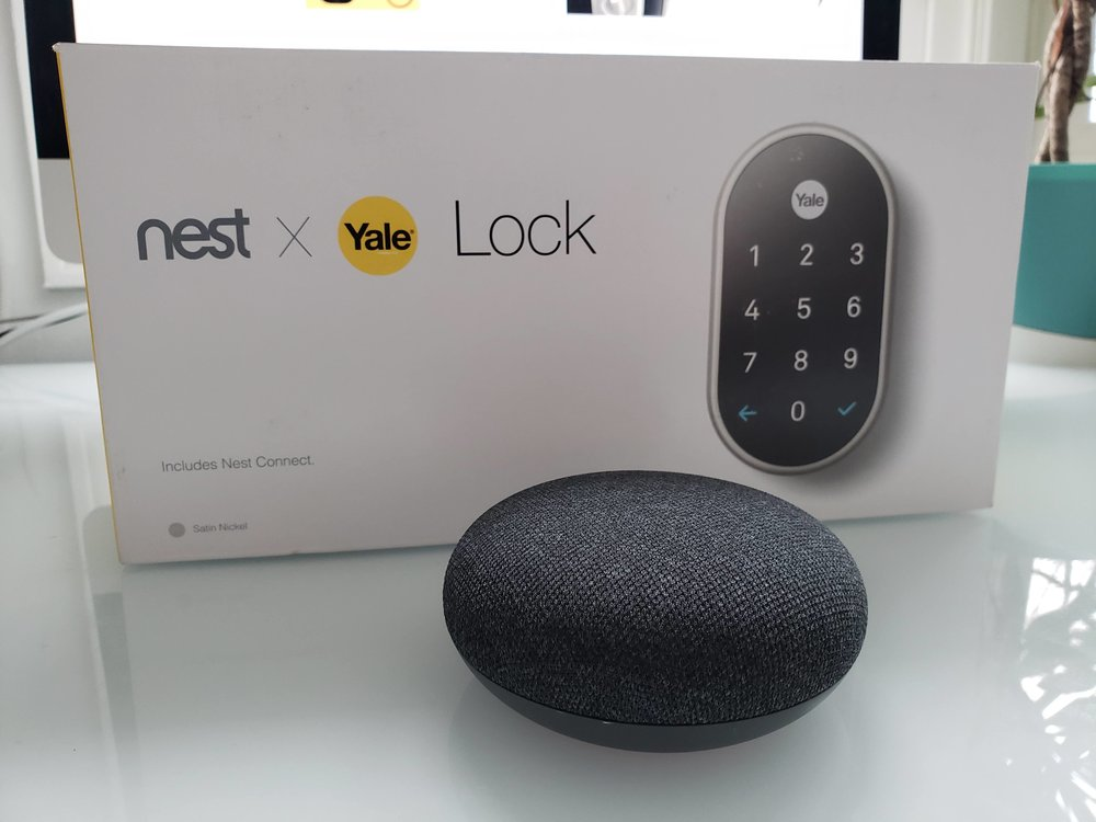 Does the nest x yale lock work with google home?