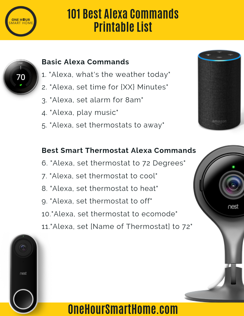 Best Amazon Alexa Commands List-1