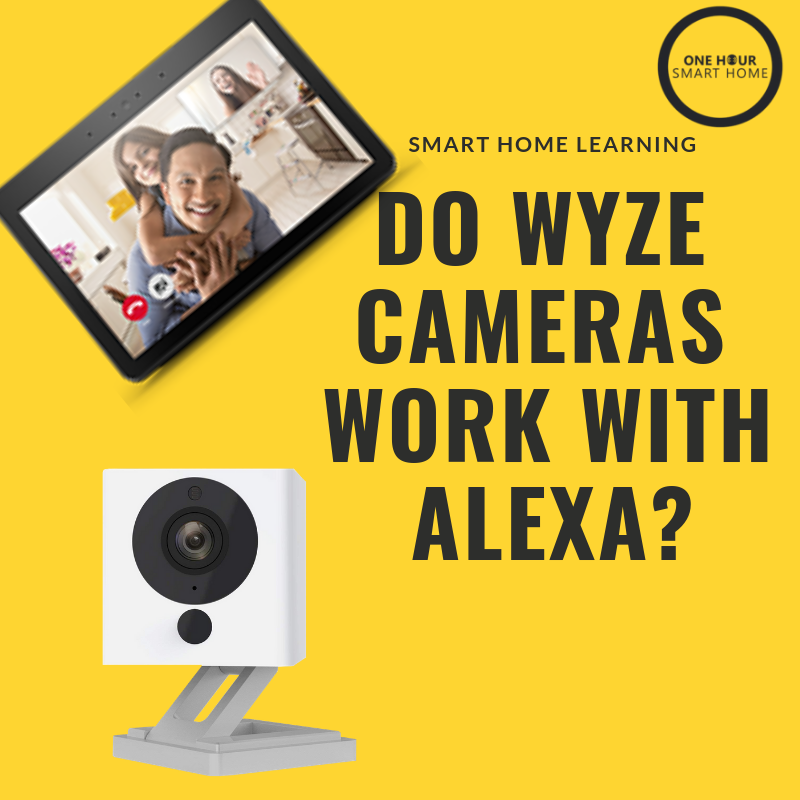 Yes, all WYZE cameras work with any Amazon Alexa Device with a screen.
