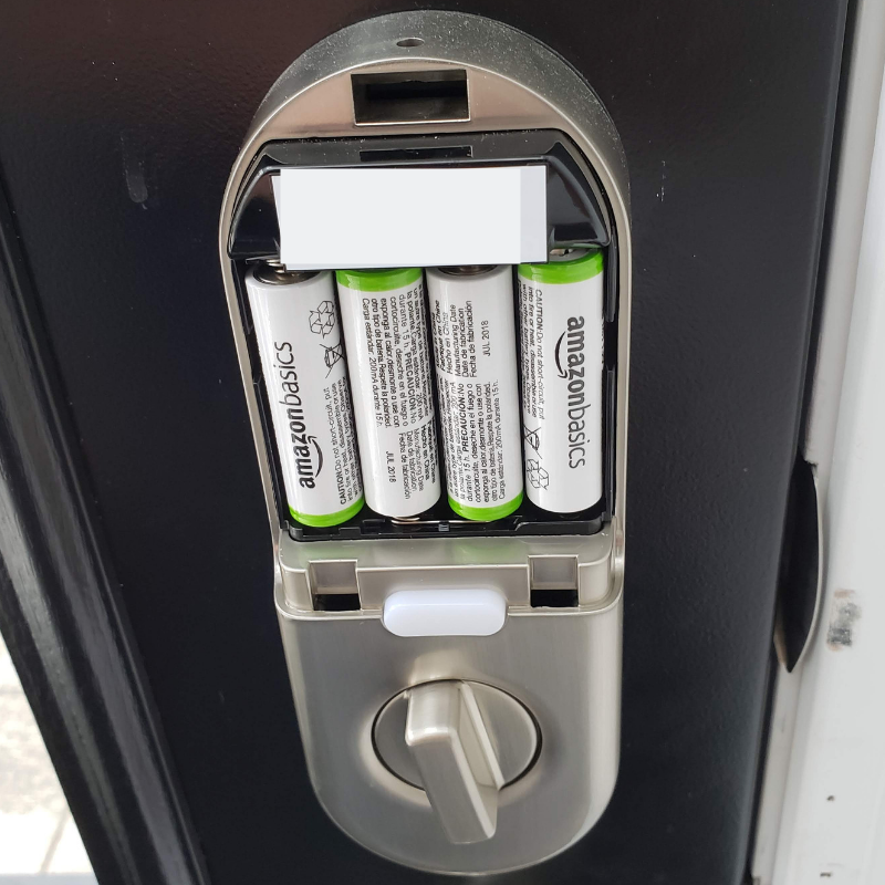 Nest Battery Replacement Nest x Yale Lock