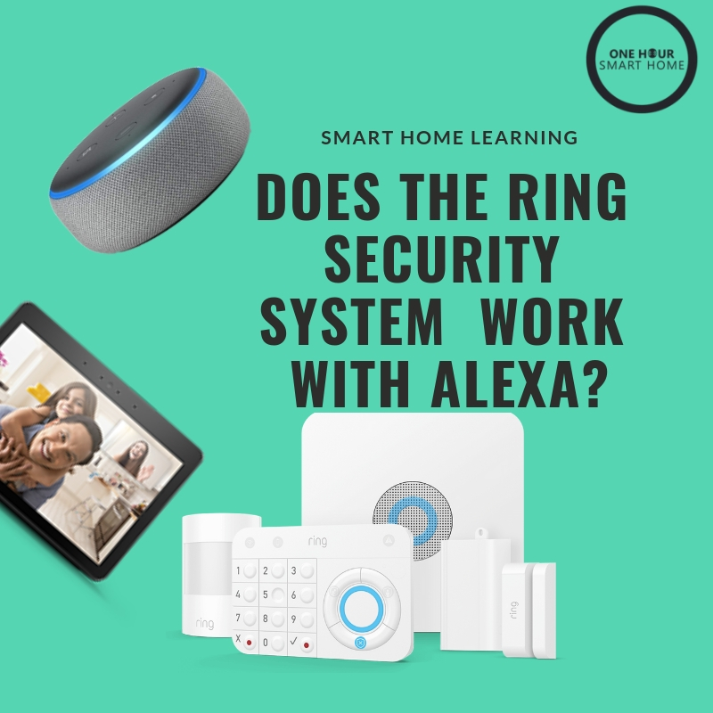 Does  Ring Security System  Work With Alexa? Yes, fabulously.