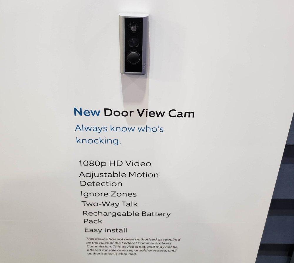 Ring Door View Cam  Review: CES 2019 Release of Ring Doorbell Features