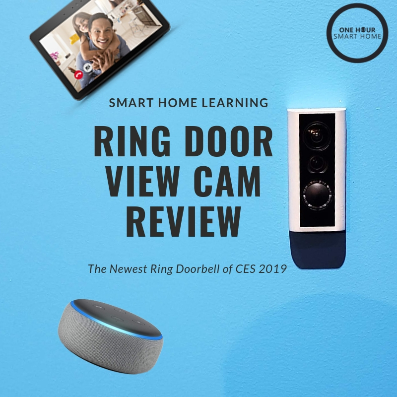 Ring Door View Cam  Review: The Newest Ring Smart Doorbell CES 2019
