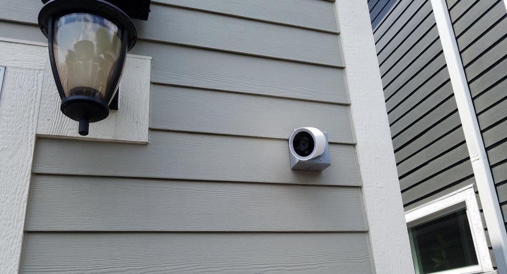 Nest IQ Outdoor Camera Installation