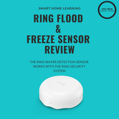 Ring Water Sensor Review — OneHourSmartHome com