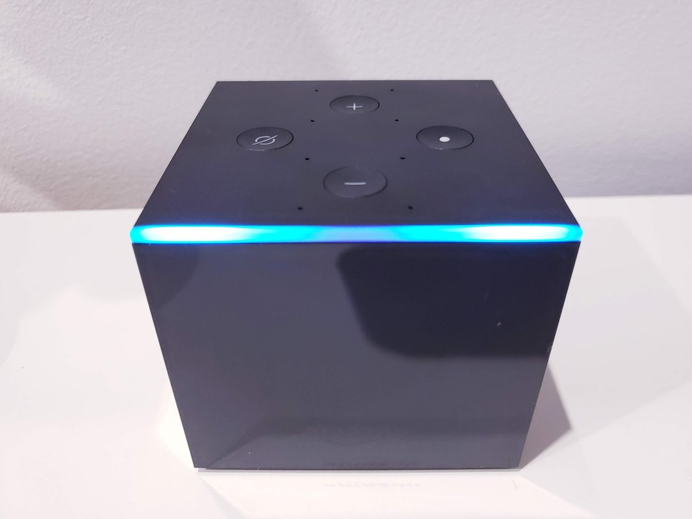 Connect Alexa To TV with Fire TV Cube.