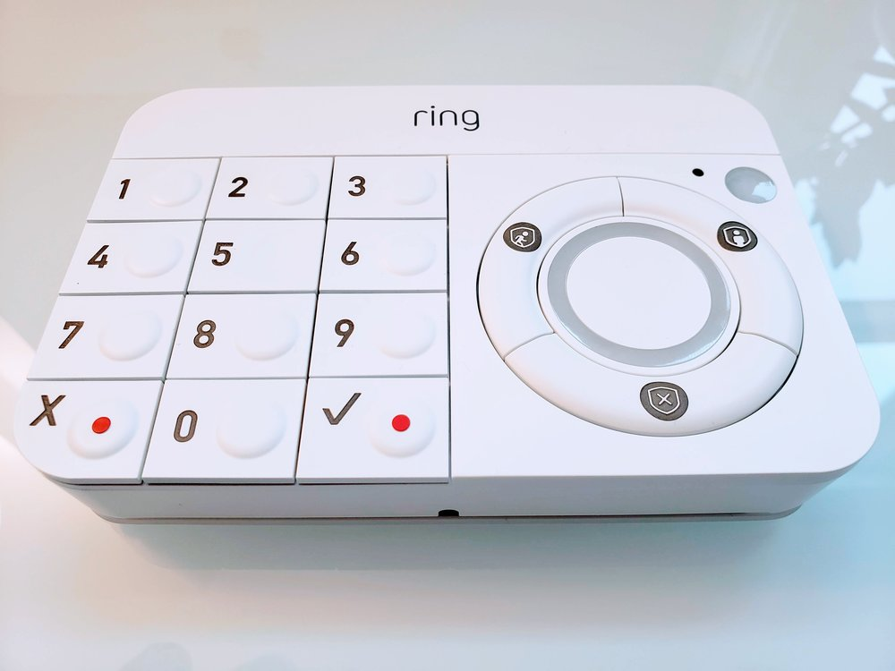 Ring Security System Review: Ring Keypad