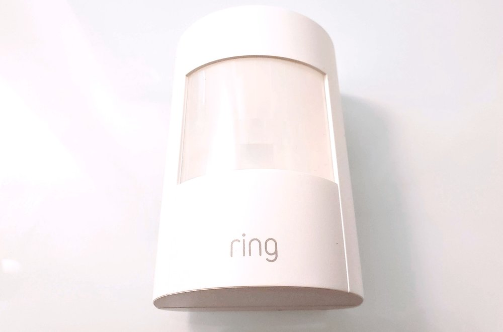 Ring Security System Review : Ring Motion Sensor