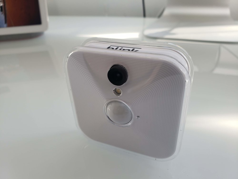 Best Smart Cameras That Work With Alexa:  Blink Indoor Camera