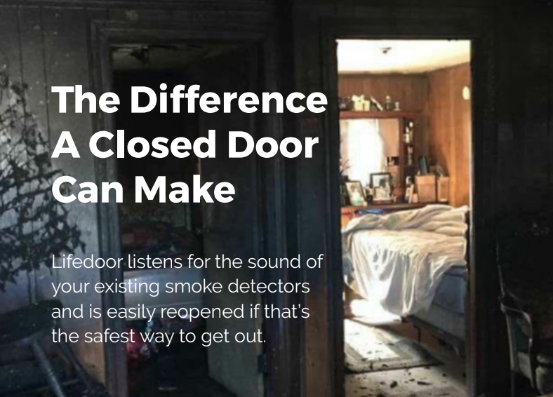 Lifedoor: A Smart Door Can Save Your Life
