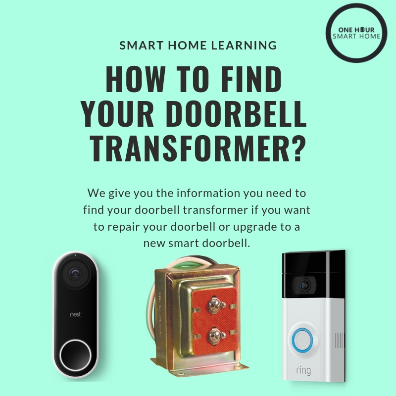 Where is my doorbell transformer? — OneHourSmartHome com