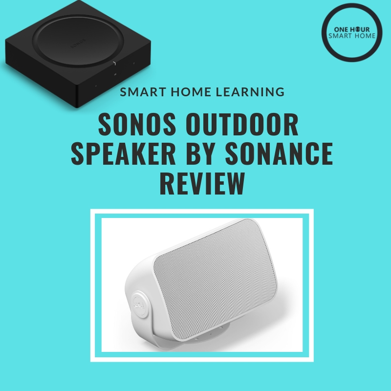 Sonos Outdoor Speaker Review — OneHourSmartHome.com on speaker connection diagrams, home audio systems installation diagrams, speaker installation diagrams, speaker cabinet accessories, speaker schematic diagram, speaker impedance matching design, bridge construction diagrams, speaker cabinet repair, speaker hook up diagram, jbl powered speaker diagrams, speaker impedance matching diagrams, speaker cabinet dimensions, home theater system connection diagrams, speaker driver diagram, speaker cabinet assembly, ohm guitar speaker diagrams, amplifier and subwoofer diagrams, speaker crossovers circuit diagrams, speaker level inputs for amp,