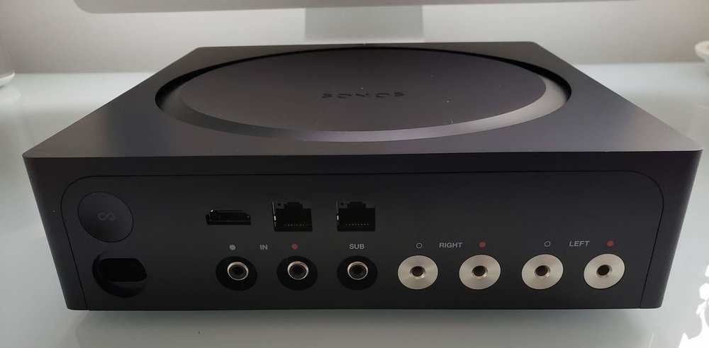Sonos Amp Review 2019: Sonos Amp Inputs, HDMI, Analog,  Sub Out, Left/Right Channel 125W, Ethernet & Power
