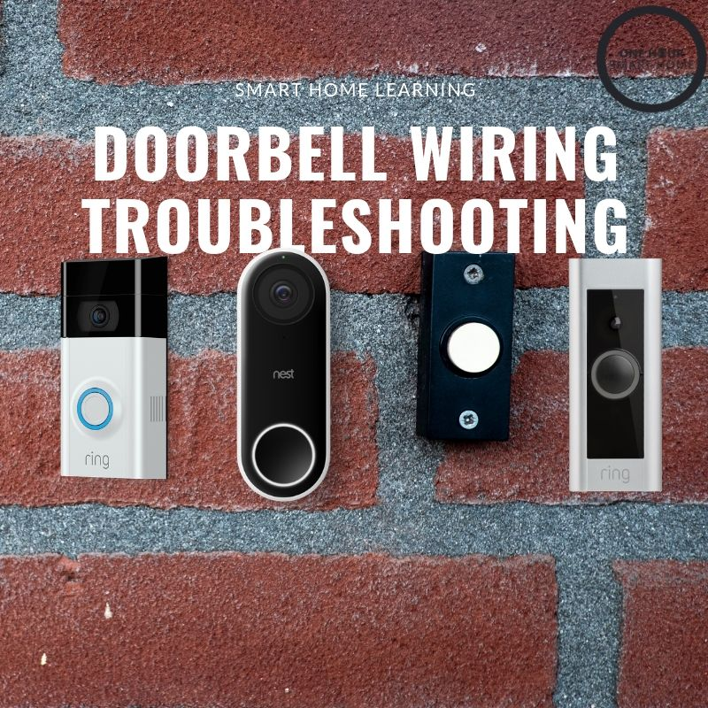 Doorbell Wiring Troubleshooting — OneHourSmartHome.com on doorbell parts, doorbell sound, doorbell wire, doorbell switch, doorbell repair, doorbell buttons, doorbell battery, doorbell installation, doorbell covers, doorbell security, doorbell relay, doorbell chimes,