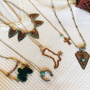 Just a few southwestern necklaces