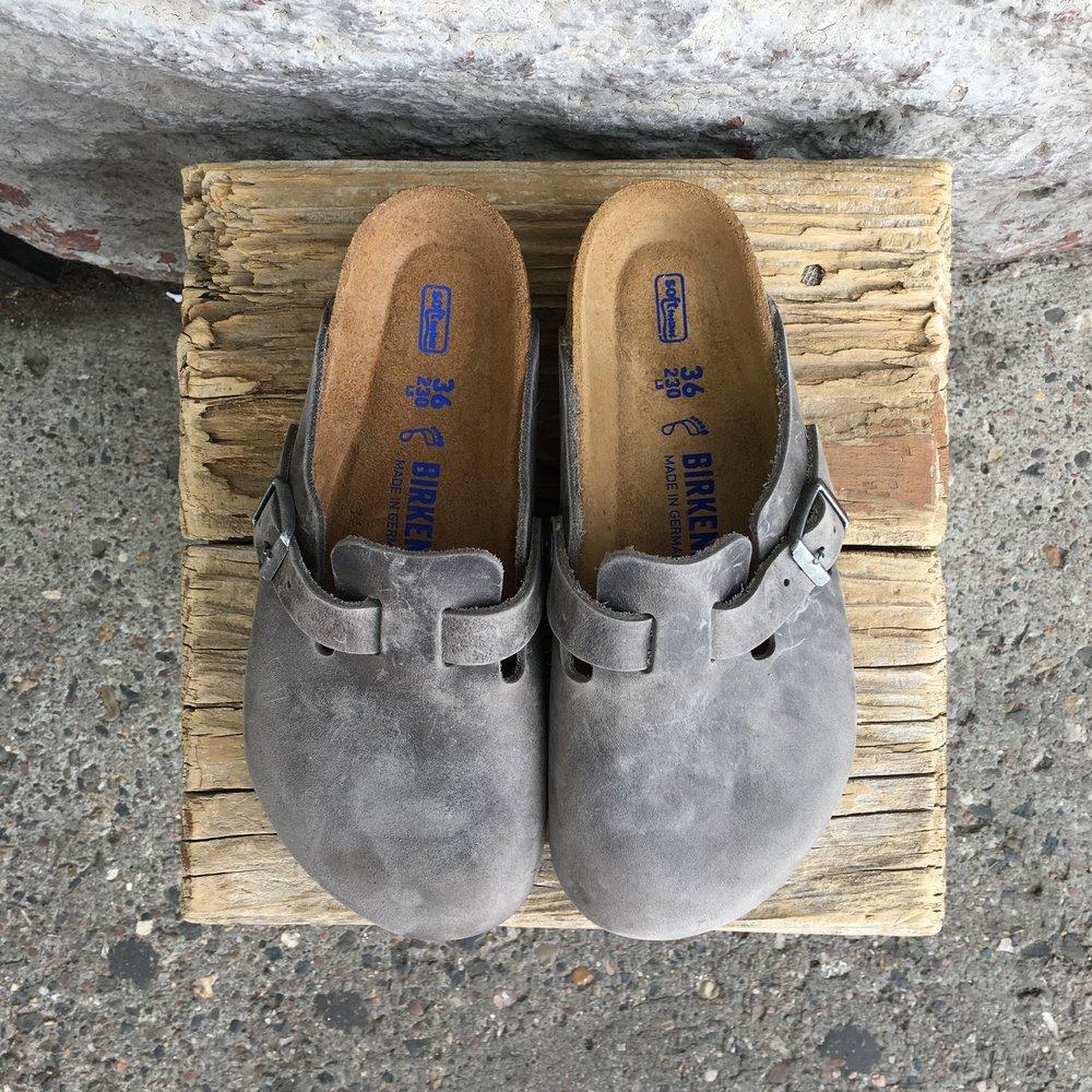 BOSTON Iron Oiled Leather -