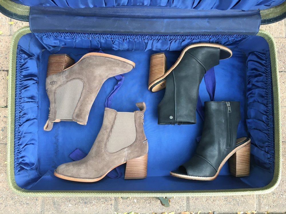 UGG AUSTRALIA - Ugg brings forward fashion for all ages. Known for their sheepskin boots, they present a fresh fall line full of modern styles.