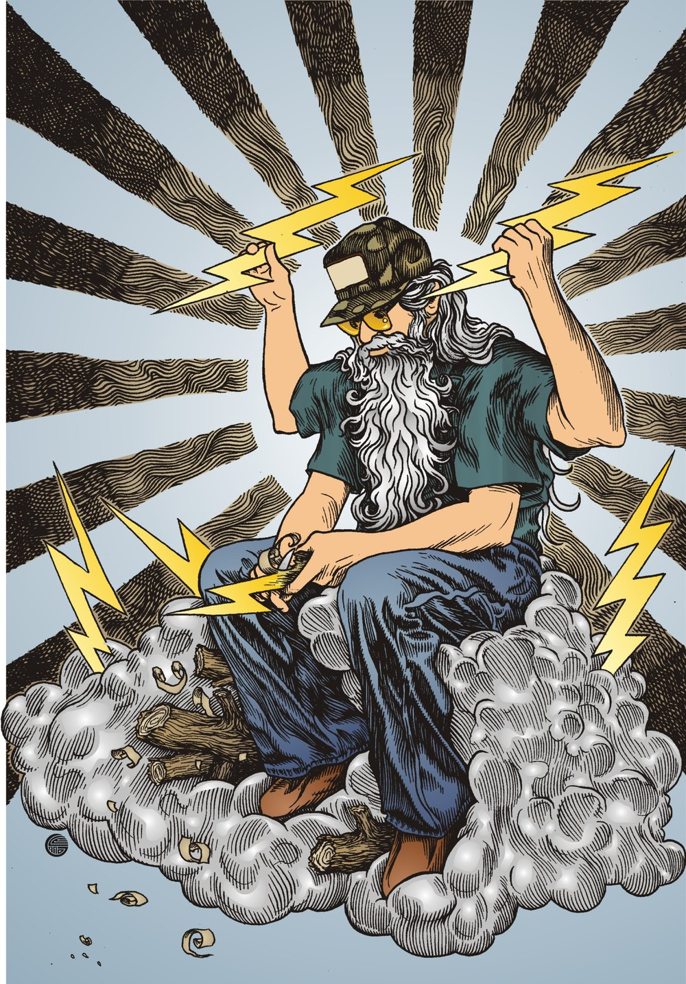 zeus whittling lightning.jpg