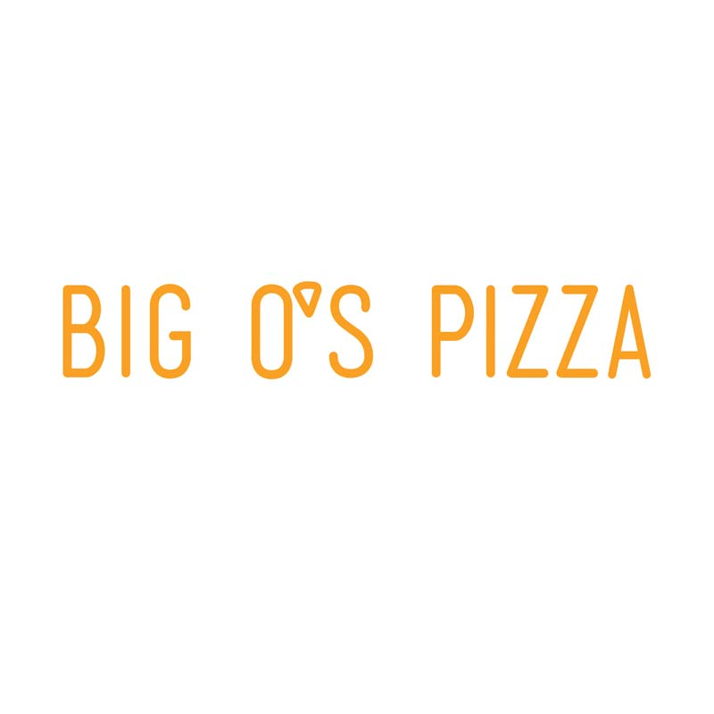 Logo for Big O's Pizza