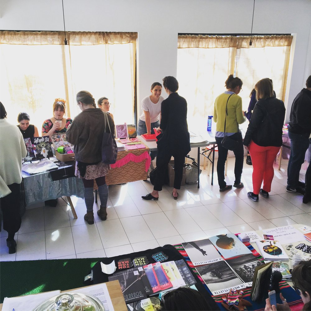 "Inaugural ""New Women Print & Zine Fest"" co-presented with ""Got a Girl Crush"""