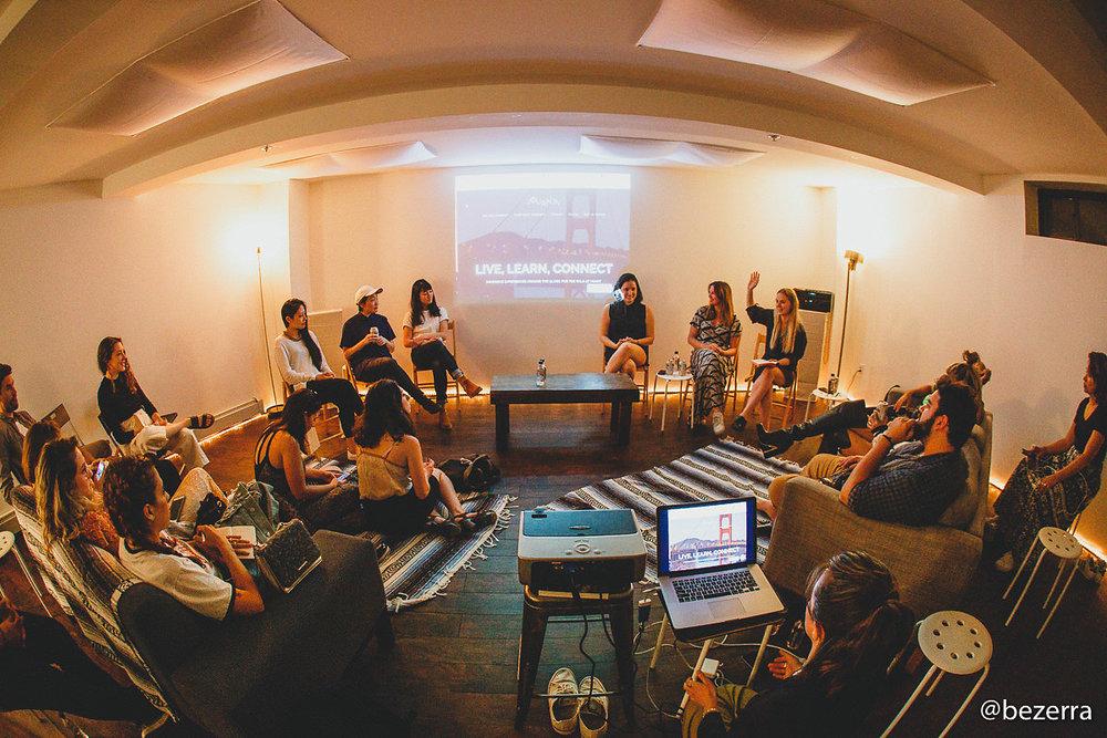 Event Rental from touring Brazilian Entrepreneurs Group