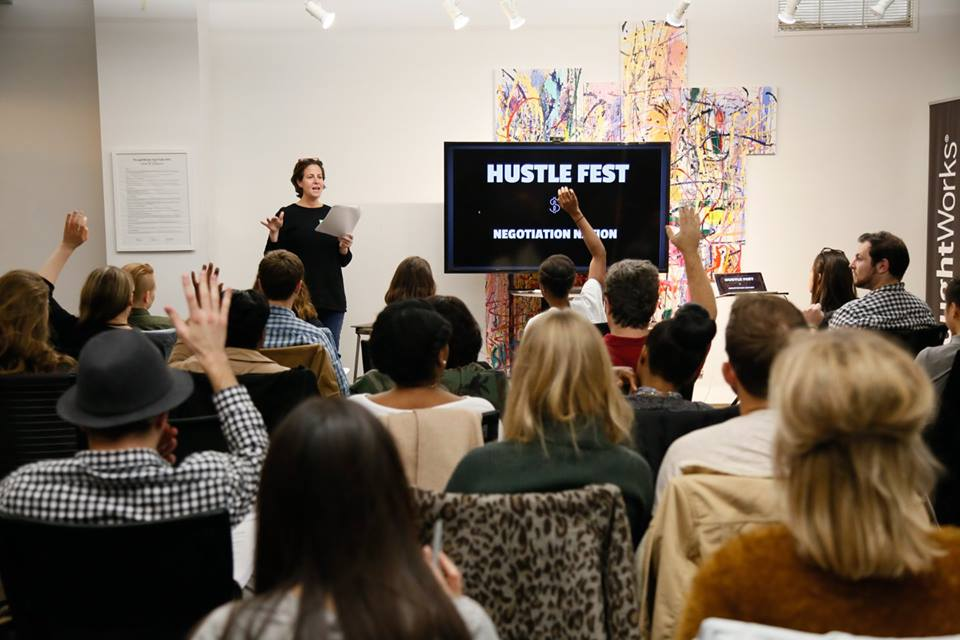 Negotiation Workshop by Hillary Black for Hustle Fest #2