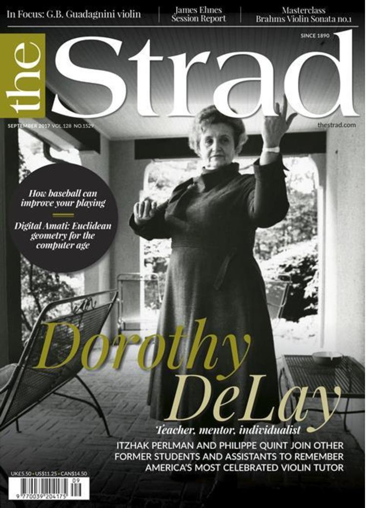 The Strad Magazine, Sept 2017